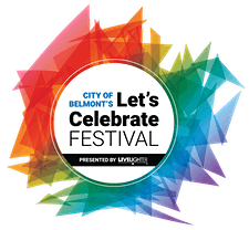 City of Belmont's Let's Celebrate Festival logo