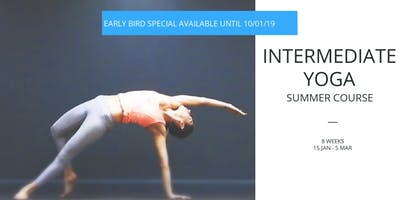 Summer Intermediate Yoga Course