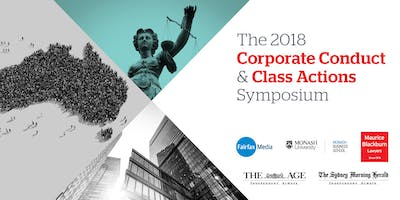 THE 2018 CORPORATE CONDUCT & CLASS ACTIONS SYMPOSIUM