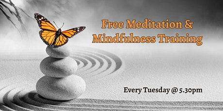 Free Meditation & Mindfulness Training  tickets