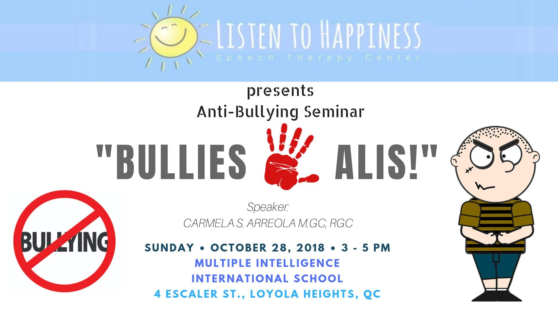 anti bullying speech
