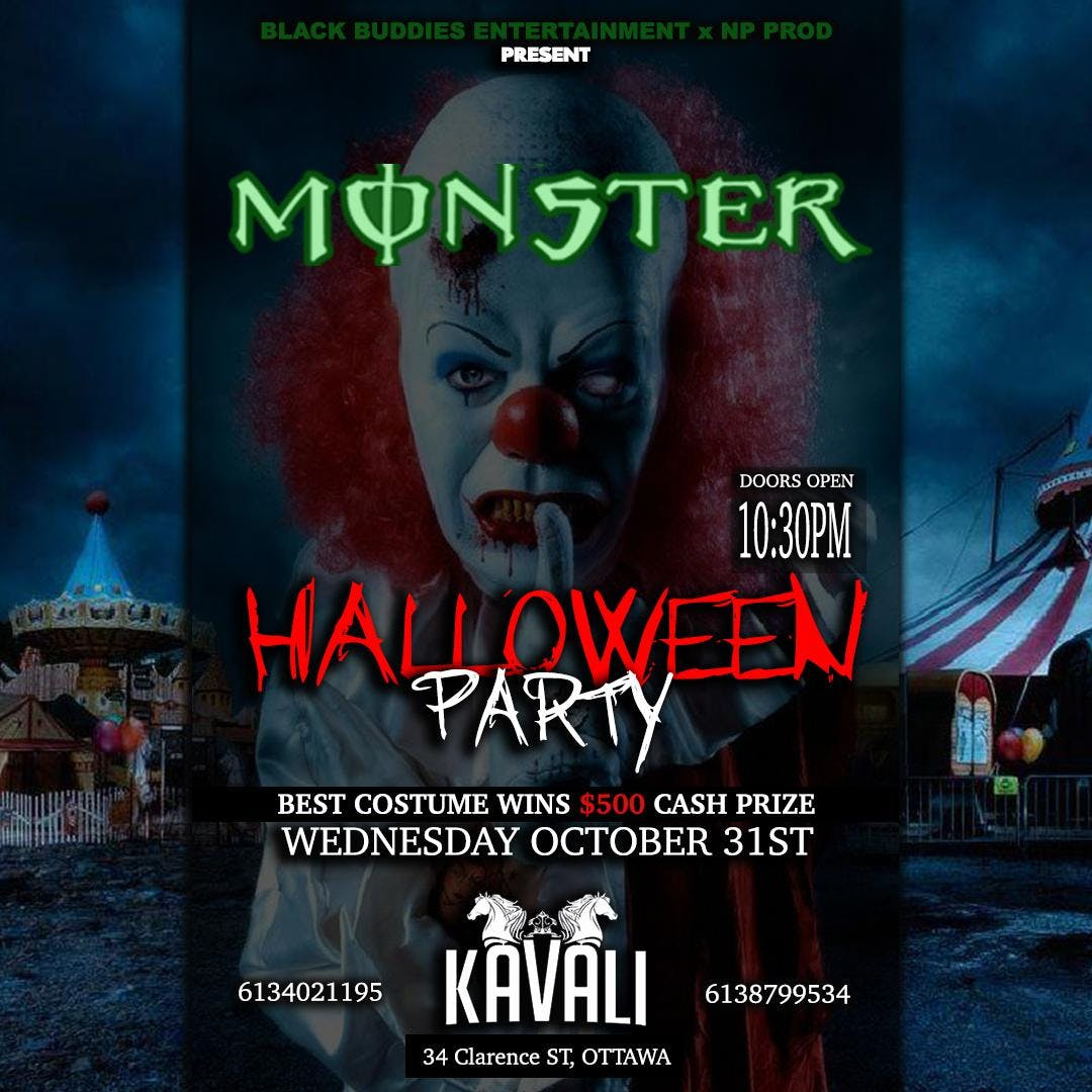 OTTAWA'S OFFICIAL  HALLOWEEN MONSTER PARTY
