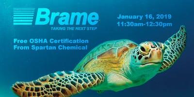 Brame Vendor Fair - FREE OSHA Certification