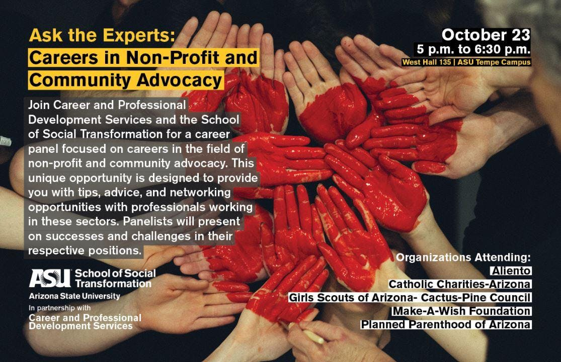 Ask the Experts: Careers in Non-Profit and Community Advocacy