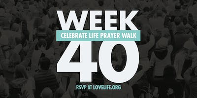 WEEK 40 - Celebrate Life Prayer Walk
