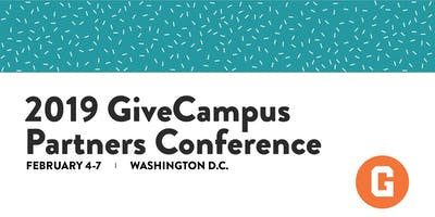 2019 GiveCampus Partners Conference
