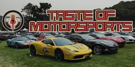 Taste of Motorsports tickets
