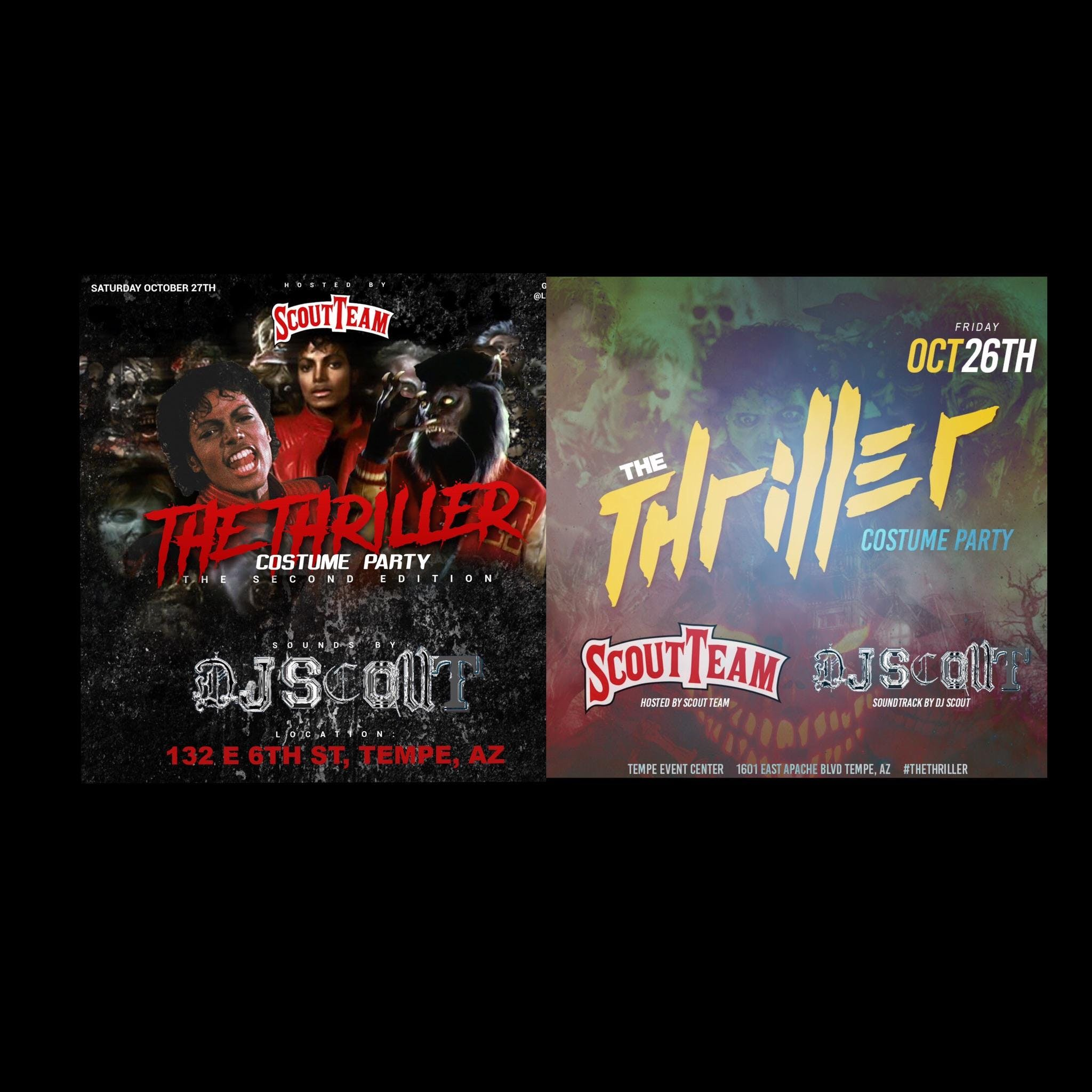 Scout Team Presents: The Thriller Costume Party PT 1 & 2