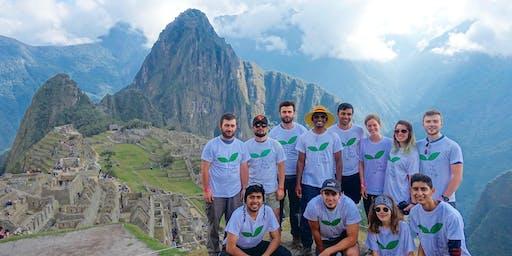 UCL climbs Machu Picchu
