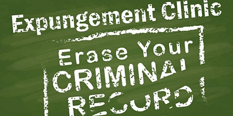 FREE EXPUNGEMENT CLINIC tickets