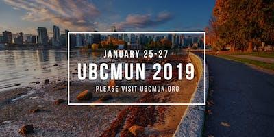 UBCMUN 2019