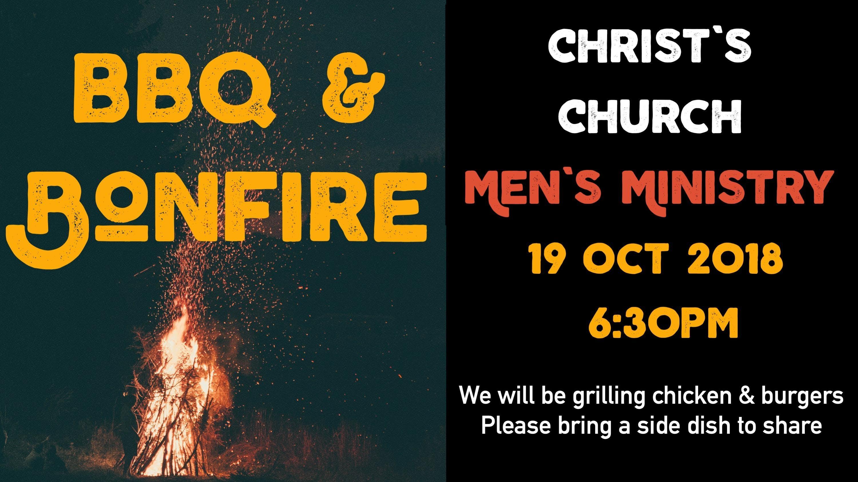Bonfire & BBQ: Christ's Church Men's Ministry