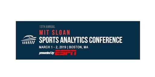 麻省理工学院斯隆体育分析会议2019