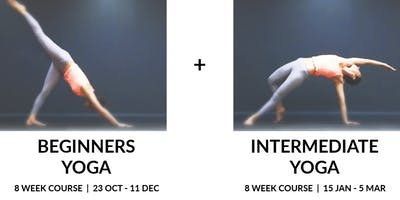 Beginner & Intermediate Yoga Course Bundle