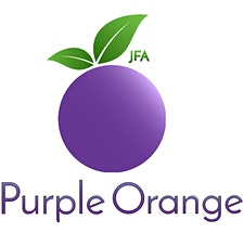Independent Advocacy, Home Place, Citizen Advocacy, Community Living Project & JFA Purple Orange logo