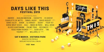 Days Like This Festival 2019