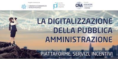 La Digitalizzazione della Pubblica Amministrazione