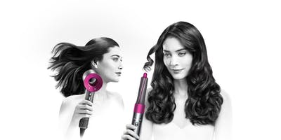 Dyson Supersonic™ and Airwrap™ hairstyling Helsinki