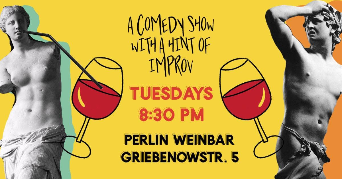 Another Comedy Show - Improv Comedy + Wine Ta