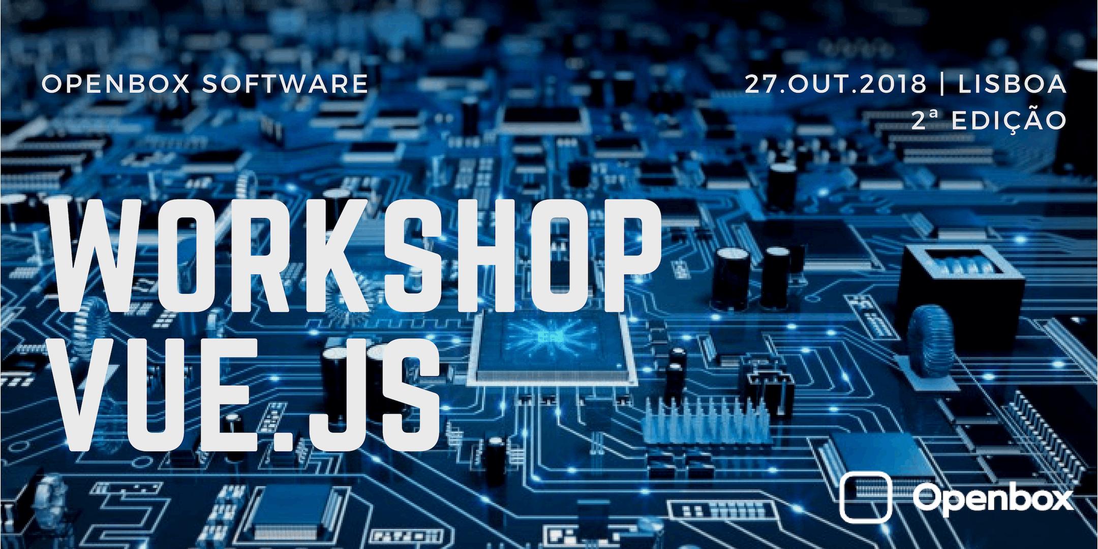 Workshop Vue.js - mais de 114.000 estrelas no