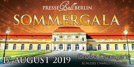 Presseball Berlin - die Sommergala 2019 tickets