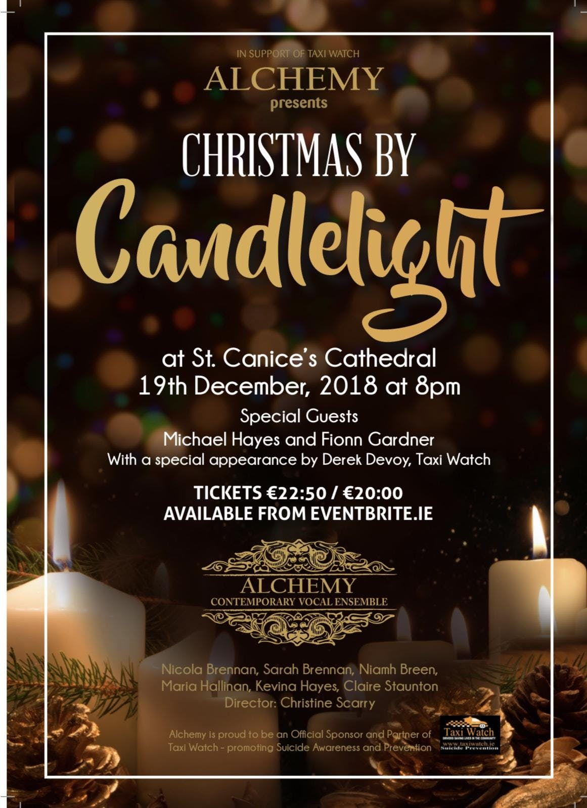 Alchemy presents CHRISTMAS BY CANDLELIGHT