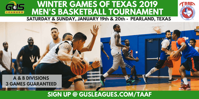 Winter Games of Texas 2019 - Men's Basketball Tournament