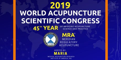 2019 World Acupuncture Scientific Congress tickets