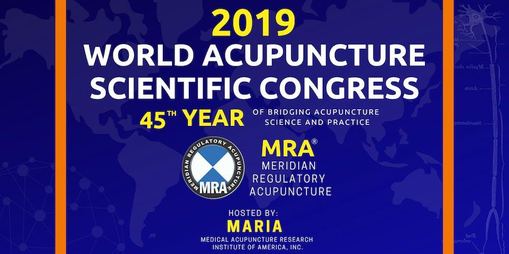 2019 World Acupuncture Scientific Congress Tickets, Thu, Sep