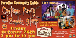 5th Annual Halloween Costume Party and Zombie Stomp @...