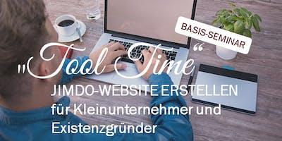 """Tool Time"" - Tagesseminar Jimdo-Website erstellen"