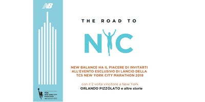 NEW BALANCE: THE ROAD TO TCS NEW YORK CITY MARATHON