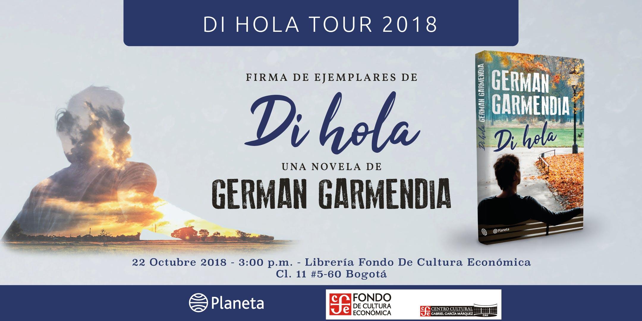 DI HOLA TOUR 2018 COLOMBIA - Bogotá