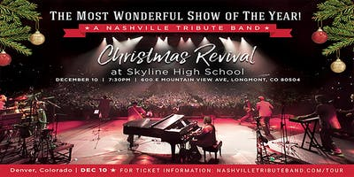 A Nashville Tribute Band Christmas Revival- DENVER, CO