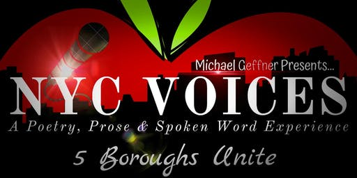 NYC Voices: A Poetry, Prose & Spoken Word Experience - 5 Boroughs Unite