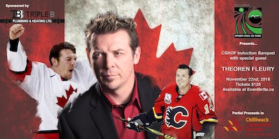 Theoren Fleury & the CSHOF Induction Banquet