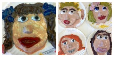 Mommy's Time Off- Clay Play: Self Portrait (3-9 Years)