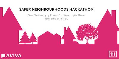 Safer Neighbourhoods Hackathon