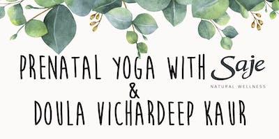 Prenatal Yoga with Saje Natural Wellness