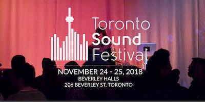 Toronto Sound Festival 2018