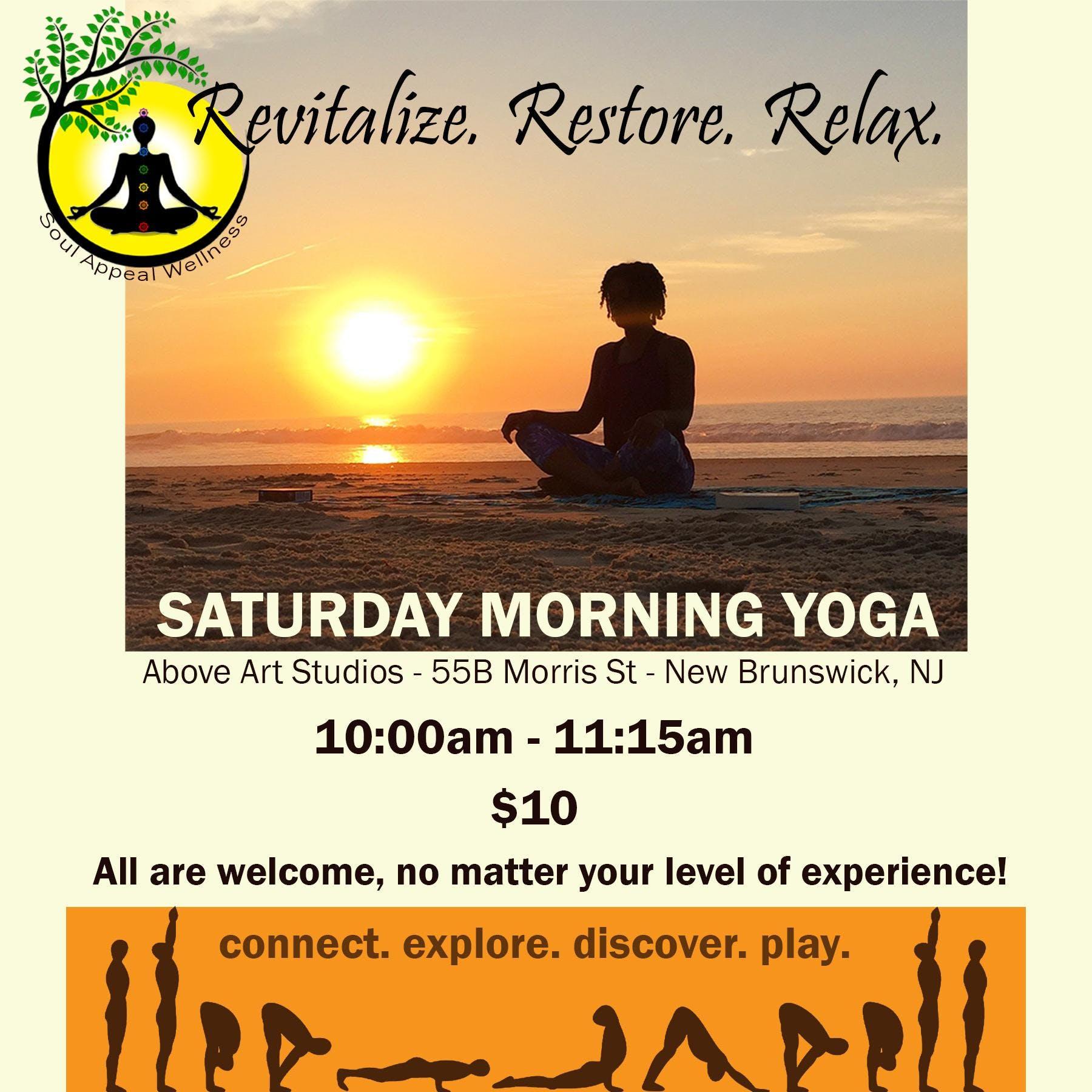 Soul Appeal Saturday Morning Yoga