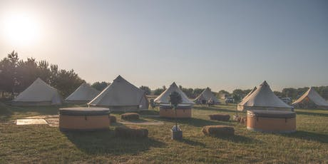 Luxury Glamping at Derbyshire Sausage & Cider Festival 2019  tickets