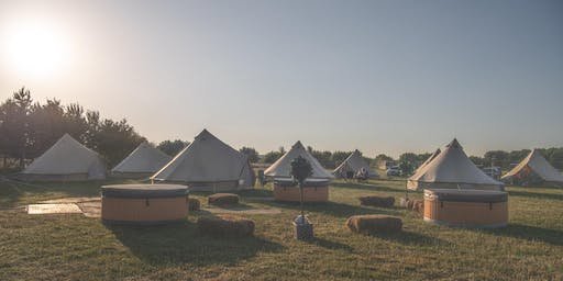 Luxury Glamping at Derbyshire Sausage & Cider Festival 2019