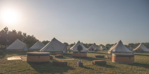 Luxury Glamping at Back to the 80s and 90s Festival 2019