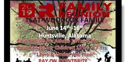 Teat-Woodcox 2019 Family Reunion
