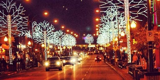 November 24 Gatlinburg Winter Magic Trolley Ride of Lights