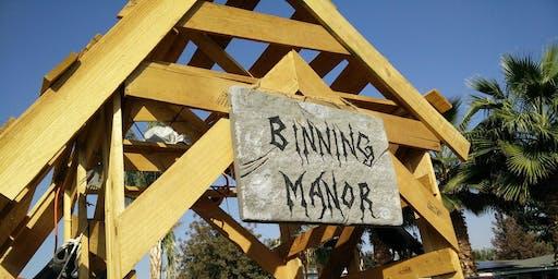 Binning Manor Spook Alley