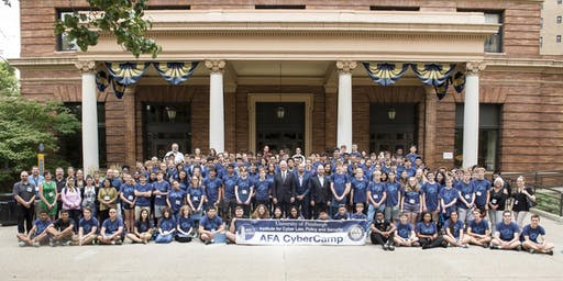 2019 AFA CyberCamp hosted by Pitt Cyber