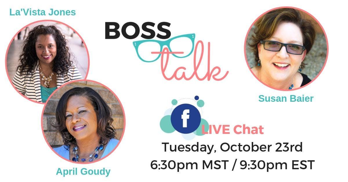 Boss Talk - Facebook LIVE Chat