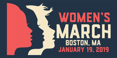 Women's March 2019 Boston MA
